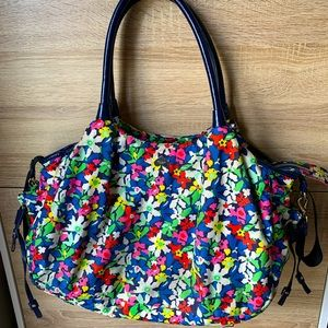 Kate Spade Stevie baby bag.